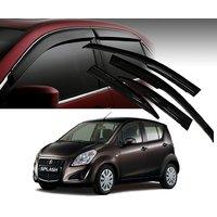 Premium Quality Car Rain Wind Door Visor Side Window Deflector For -MARUTI SUZUKI- RITZ -SET OF 4 PCS