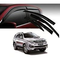 Premium Quality Car Rain Wind Door Visor Side Window Deflector For -HYUNDAI-I10 GRAND-SET OF 4 PCS