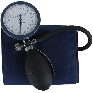 Palm Type Aneroid Sphygmomanometer BP Monitor