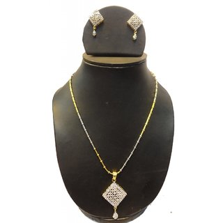 Natraj Arts American Diamond Jewellery Necklace Set Gfns_M_205