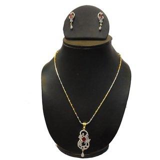 Natraj Arts American Diamond Jewellery Necklace Set Gfns_M_212