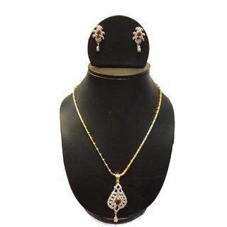 Natraj Arts American Diamond Jewellery Necklace Set Gfns_M_222