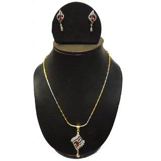 Natraj Arts American Diamond Jewellery Necklace Set Gfns_M_227