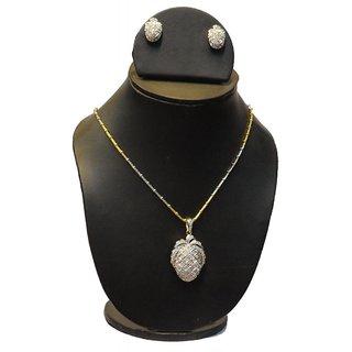 Natraj Arts American Diamond Jewellery Necklace Set Gfns_M_240