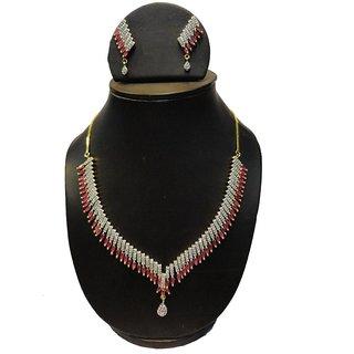 Natraj Arts American Diamond Jewellery Necklace Set Gfns_M_251