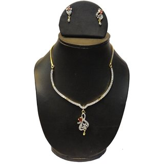 Natraj Arts American Diamond Jewellery Necklace Set Gfns_M_255