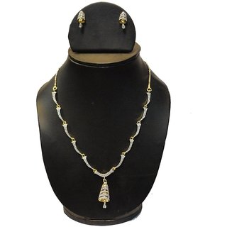 Natraj Arts American Diamond Jewellery Necklace Set Gfns_M_259