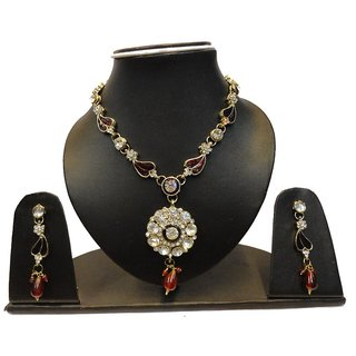Natraj Arts American Diamond Jewellery Necklace Set Gfns_M_262