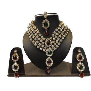Natraj Arts American Diamond Jewellery Necklace Set Gfns_M_266