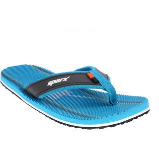 Sparx Men Sky Blue & Grey Slippers (SFG-2038)