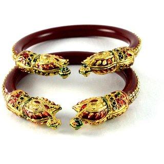 Antiqe bangles  colour red