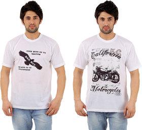 dfnk altanta printed t-shirts combo of 2