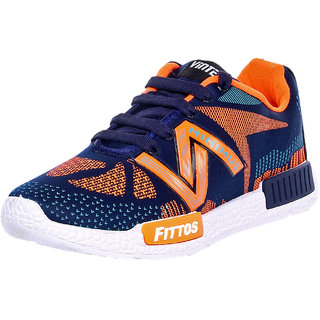 Birdy Vintex Fittos Men'S Blue Orange Sports Shoes