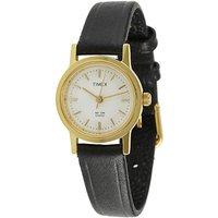 Timex Quartz White Round Women Watch B300