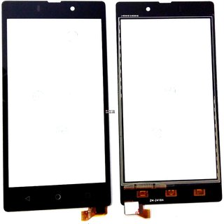 Touch Screen Digitizer Glass PDA For Reliance Jio LYF Wind 7 LS-5016 - Black