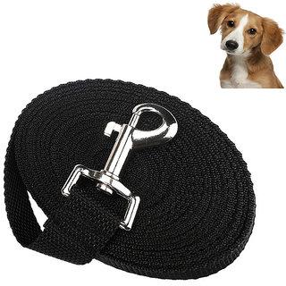 Futaba Nylon Adjustable Training Dog Leash - Black - Medium
