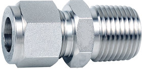 Om Tubes Stainless Steel 304 Male Connector Tube Fittings 1/8