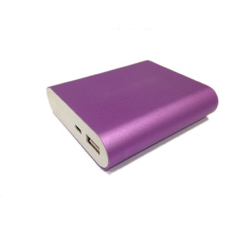 Cloud Super Charger 10400 mAh Power Bank - Purple (3 Months brand Warranty)