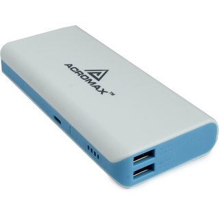 Acromax Super Charger 13000 mAh Power Bank - Blue (3 Months brand Warranty)