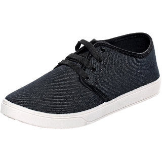 Birdy Men'S Black Lofar Shoes