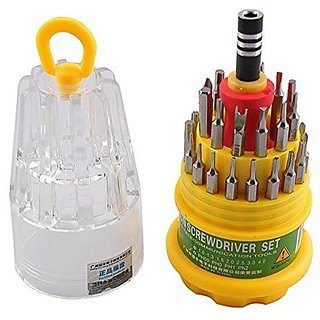 Ws Magnetic precision screwdriver tool set - 31 in 1