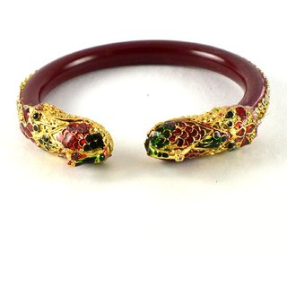 Royal  bangles kara colour red