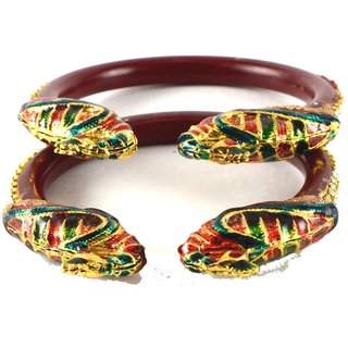 Classy bangles colour red