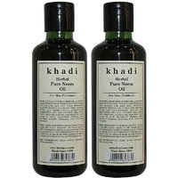 Khadi Herbal Pure Neem Oil - 210ml (Set of 2)
