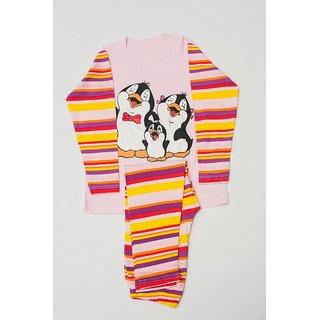JUMPIN JAMMIES KIDS NIGHTWEAR / PINK / PINK PENGUIN / UNISEX / BOYS / GIRLS /