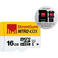 Strontium 32 GB USB Ammo Silver Pen Drive 3.0