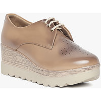 Marc Loire Women's  Beige Solid Casual Shoes