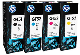 HP GT51 Original Multi Color Ink Set (Black, Magenta,Cyan,Yellow)