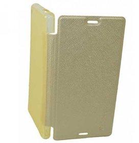 Premium  Leather Smart Flip Cover For HTC Desire 616