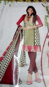 Dress material cotton (Unstitched)