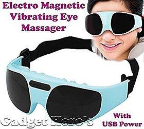 Eye Magnetic Vibrating Massager Glasses To Reduce Under