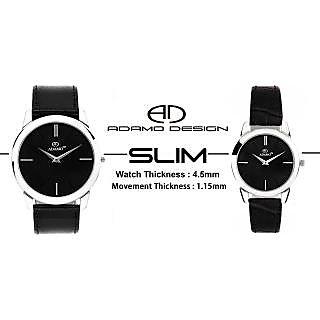 ADAMO Slim Couple's Wrist Watch AD6472SL02
