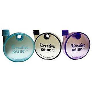 Priyankish Blue, Black  Purple Creative Kettle (Pack of 3)