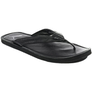 541ba613c875 Buy Puma Men Black Java III Ind Flip Flops Online   ₹1999 from ...