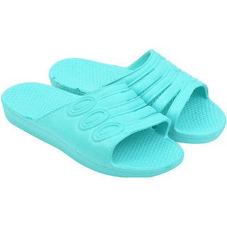 Women's Green Slippers