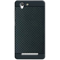 RSC POWER+ 360 Protection Premium Dotted Designed Soft Rubberised Back Case Cover For  Gionee F103 Pro -Black
