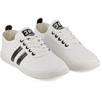 Devee Women's Black & White Sneakers