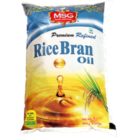 MSG Rice Bran Oil 1Ltr