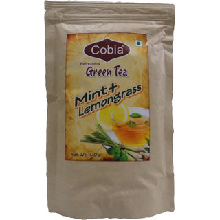 Cobia Green Tea(Mint + Lemongrass) 100g pouch
