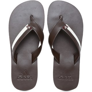 5b29bb8d55b5 Buy ADIDAS MEN S BROWN SWIM BRIZO 3.0 FLIP FLOPS SLIPPERS Online - Get 57%  Off