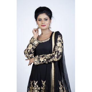 7ab916cb8bc8d Buy Bollywood Fashion Designer Embroidery Long Anarkali Dress Heavy  Embroidered Anarkali Party Wear Women Designer Suit Online - Get 72% Off