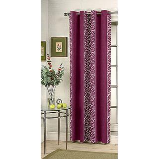 Kalaa Synthetic Purple Door Curtain (Pack of 1)