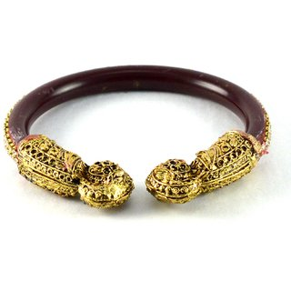 Amazzing  bangles kara colour maroon