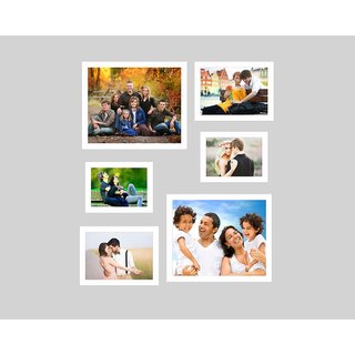 SwadesiStuff MDF photo frame collage