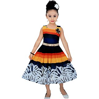 e9e7caee0ba5 Cute Fashion Kids Girls Baby Dress for Princess Sifone Party Wear Frock Dresses  Clothes 4 - 5 Years