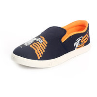 De 1' Amour Men'S Blue Orange Casual Shoes